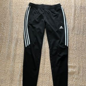 ADIDAS womens size small black track pants